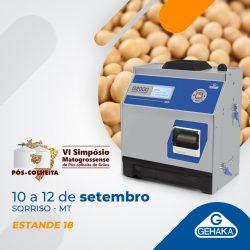 Medidores e um sistema automático de monitoramento de umidade de grãos são apresentados em VI Simpósio Matogrossense de Pós-colheita de grãos